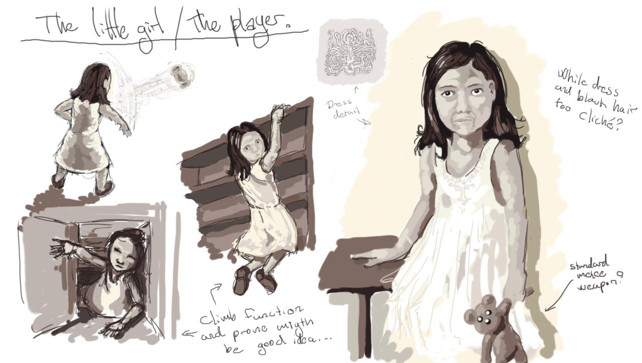 Character: The protagonist (little girl / young woman)