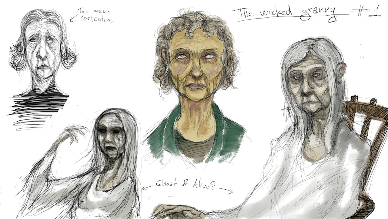 Character: The wicked grandmother